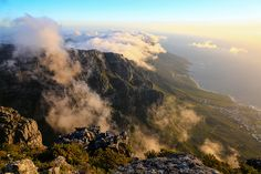 Cape Town, Western Cape, South Africa Late Afternoon on the top of Table Mountain. Places To Travel, Places To Go, Art Pictures, Art Pics, Culture Travel, Cape Town, Homeland, South Africa, Beautiful Places