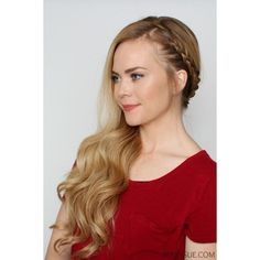 Bohemian Sideswept Dutch Braid ❤ liked on Polyvore featuring beauty products, haircare, hair styling tools, paddle brush and curling iron