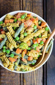 Vegan Curried Pasta Salad   Emilie Eats