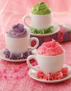 Tea Cup Cupcakes from Pink Princess Tea Parties Book