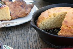 Sweet Brown Butter Cornbread- Food Memory Guest Post with Girlichef