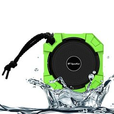 Monstercube Water Resistant Wireless Bluetooth Speaker. Dustproof & Shockproof & Waterproof Speaker with 5W HD Bass Speaker Driver. Best Bluetooth Speaker for iPhone, iPod, Macbook, Samsung Galaxy S4/S5, Galaxy Note, Amazon Kindle Fire HD, Amazon Fire Phone, HTC One, Nexus 7, Nexus 4, Microsoft Surface and All Tablets, Smart Phones, Mac and PC's. Thanks to 52mm 5W driver and Passive Subwoofer,you can enjoy rich bass and powerful sound when play Music, Movies, You Tube Videos, Games…