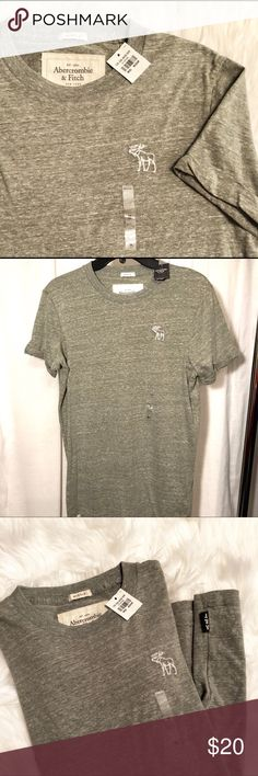 Men's Abercrombie & Fitch Muscle Tee NWT crew neck muscle Tee Abercrombie & Fitch Shirts Tees - Short Sleeve