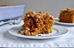 Pumpkin Coffee Cake I howsweeteats.com