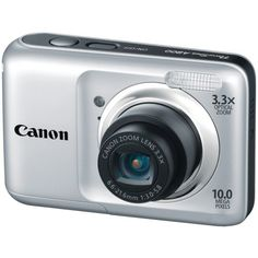 Canon Powershot A800 10 MP Digital Camera with 3.3x Optical Zoom (Silver), Best Gadgets