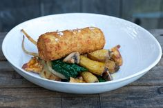 Roast Pork Croquette with HoneyRoasted Parsnips – The British Larder