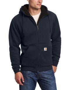 Carhartt Men`s Big-Tall Brushed Fleece Sweatshirt Sherpa Lined - List price…