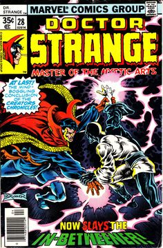 Doctor Strange 1974 2nd Series 28  April 1978 Issue by ViewObscura