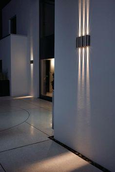 appliques extérieures, ensemble d'appliques modernes, éclairage d'éxtérieur