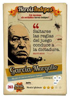 """#HeroisIndepes 263. José Manuel García-Margallo: """"Saltarse las reglas del juego conduce a la dictadura."""""""