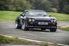 #british #musclecar #badass  Jaguar Lister Le Mans - 7.5 liter 12 cylinders 500hp @ 6200trs/min