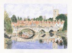 Aylesford bridge, Architectural pieces, Steve Everest, SAA Professional Members' Galleries