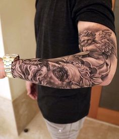 Masculine Armband Tattoo Designs for Men (9)