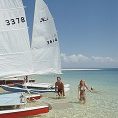 Set sail.  Slim Aarons, 1973.