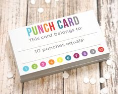 Punch Cards - Kids Incentive Loyalty Reward Card for Parents or Teachers - Card . - Punch Cards – Kids Incentive Loyalty Reward Card for Parents or Teachers – Card Size x 2 In - Classroom Incentives, Classroom Behavior, Future Classroom, School Classroom, Classroom Ideas, Class Incentives, Middle School Incentives, Homework Incentives, School Psychology
