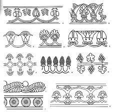 Картинки по запросу растительный орнамент вышивка месопотамия