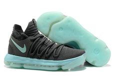 8502dab95236 Real Nike KD 10 Igloo Cool Grey Igloo White Mens Basketball Shoes 2018 Sale