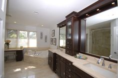 Master Bath - traditional - bathroom - chicago - by Inspired Interiors