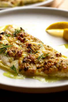 NYT Cooking: Broiled fish fillets topped with a little butter and a squirt of lemon is a quick, easy weeknight staple. But when the butter is spiked with plenty of garlic, a jolt of curry powder and piquant fresh ginger, then brightened with fresh herbs, it becomes a superb, company-worthy dish that still cooks in under 10 minutes flat. Use your favorite fish here