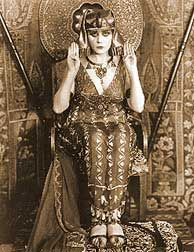 Cleopatra - as played by the one and only Theda Bara