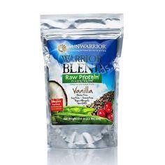 Sunwarrior Warrior Blend Raw Protein Powder - Vanilla, My favorite!