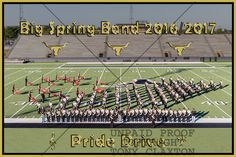 BSHS Band at Pre-UIL Marching Contest, 10/12/2016