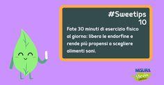 Ecco la decima delle nostre #sweetips su #salute e #workout
