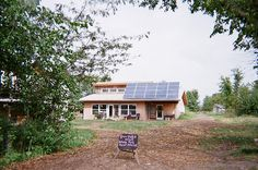 The solar powered community house at Dancing Rabbit, an eco-community in Missouri.     it's wonderful!   Visit  http://theenergysolar.com