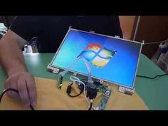 Como transformar uma tela LCD de notebook em uma TV - YouTube