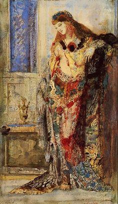 The Musée national Gustave Moreau is an art museum dedicated to the works of Symbolist painter Gustave Moreau It is located in the IXe arrondissement at rue de la Rochefoucauld, Paris, France. Art Amour, Arte Fashion, Inspiration Art, Oil Painting Reproductions, Fine Art, Henri Matisse, Beautiful Paintings, Painting & Drawing, Art Museum