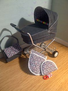 A blog about my handcrafted miniature dolls house prams and other miniatures that I make.