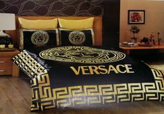 Bedding sets satin versace bed set bedding covers by CreamDella