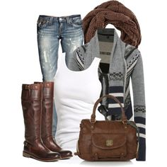 Seems cozy....don't like the boots or bag but....I like the idea and the colors