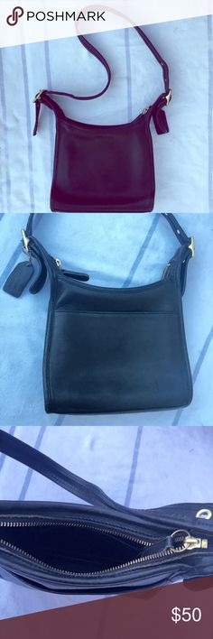 Vintage Coach Legacy Leather Shoulder Bag Purse Small and sweet practical vintage coach. Looks great worn on the shoulder. Great vintage condition with intact leather. Recently deep cleaned and conditioned by yours truly. Coach Bags Shoulder Bags