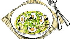 Lindsey Bareham's Thai green curry with aubergine and hard-boiled eggs | Times2 | The Times & The Sunday Times