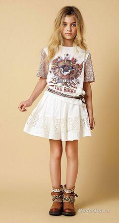 Детская мода: Twin-Set Simona Barbieri – коллекция одежды для девочек от 6 до 16 лет