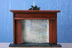 Easy DIY Dollhouse Fireplace: Simple Miniature Fireplace to Build or Modify for a Scale Scene