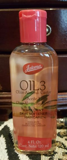 Olive, Almond, Castor Oil For hair growth. Amazing, you can find it at ...