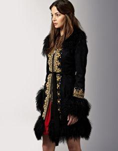 Manoush - Moscow - Manteau avec ornements :