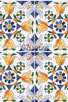 If you're looking to use hand painted tile to create stunning design features in your home, check out the beautiful handcrafted tiles by Mizner Tile Studio! Our tiles are hand crafted and painted with care. We love historic, Mediterranean, Portuguese, and Italian tile designs. Our tiles are perfect in the kitchen, for back splashes, floors, and walls. Or you can use the luxury tiles in the bathroom or outdoor spaces including pools, fountain, and stair risers! #tiledesigns #miznertilestudio
