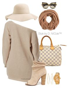 """""""Untitled #3161"""" by stylebydnicole ❤ liked on Polyvore featuring Louis Vuitton, Kristin Cavallari, Brooks Brothers, Movado, S'well, J.Crew, Anna-Karin Karlsson, women's clothing, women and female"""