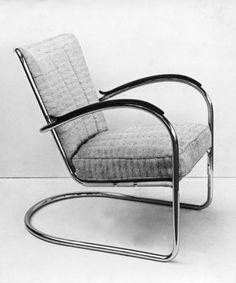 Gispen no 503 1931 bauhaus art deco to call home for Bauhaus design stoelen