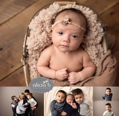Alicia B Photography Baby Milestone Session Cincinnati Newborn Photographer