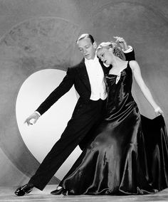 Fred Astaire and Ginger Rogers in Roberta, 1935.