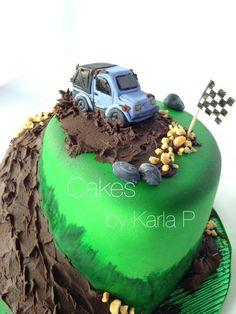4x4 cake