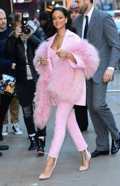 "She Gave the Term ""Pretty in Pink"" a Whole New Meaning"