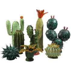 cactus en céramique