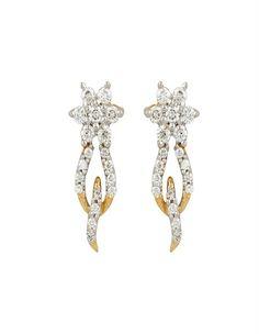 Trendy Diamond Earring | diamonds4you. See more: http://www.diamonds4you.com/item/21210328.aspx. #diamonds #earrings #diamondearring #diamondjewellery #diamonds4you #jewellery #onlinejewellery