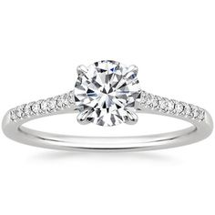 this one is okay but the diamond would need to be a little bigger to stand out.. might be too much shiny