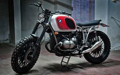 caferacerpasion: BMW R80 Scrambler by Motorecyclos | www.caferacerpasion.com